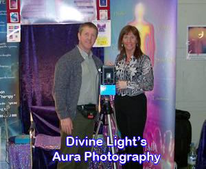Nina and Jerry Divine Lights Aura Photography Team